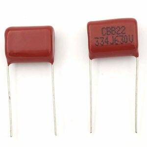 Image 4 - MCIGICM 1000 pcs 334 330nF 630V CBB Polypropylene film capacitor pitch 15mm 334 330nF 630V