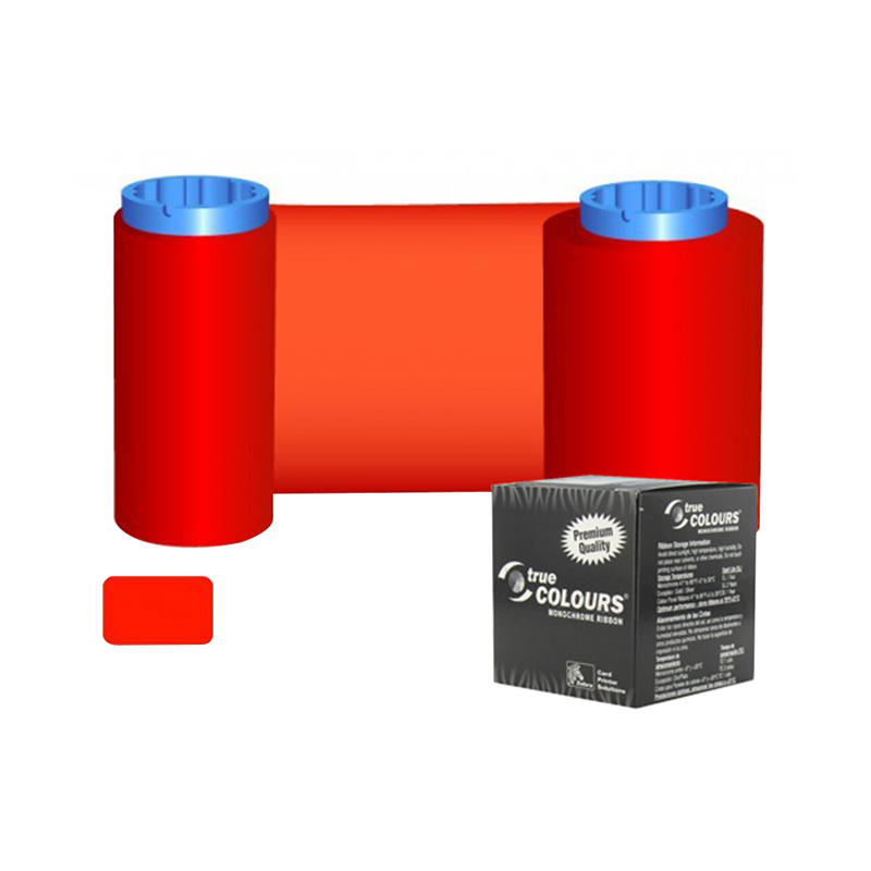 Original Printer Ribbon 800015-102 Red Ribbon For Zebra 800015-102 Card Printer idp smart 650664 siadc p r red ribbon use for smart id card printer ribbon