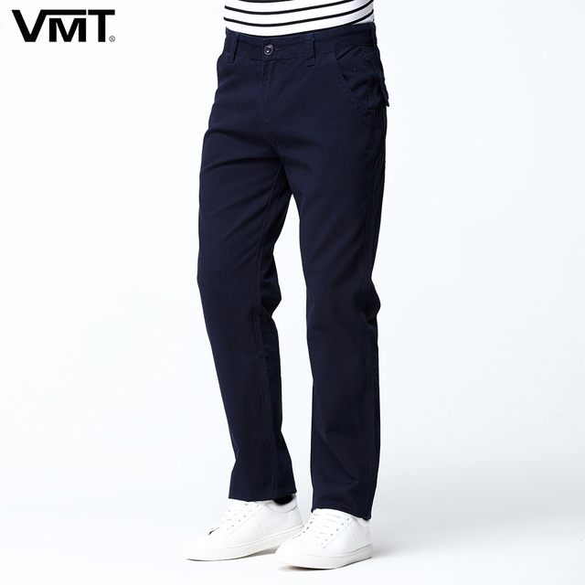Summer Men's Casual Straight Pant Cotton Back Pockets Functional Trousers Regular Cargo Pant