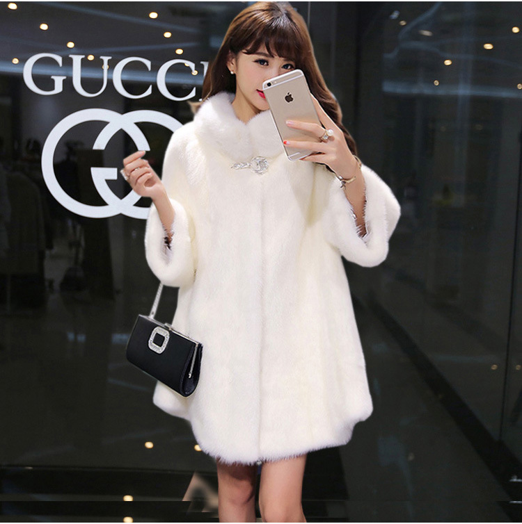 New winter womens jacket High imitation fur overcoats maternity winter clothing pregnanc ...