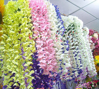 Wall guelder artificial flower decoration artificial flower hanging vines flower vine props