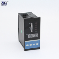 4 20mA DC input water liquid level pressure controller with 4 ways relay and DC24V Feed voltage output water liquid level meter
