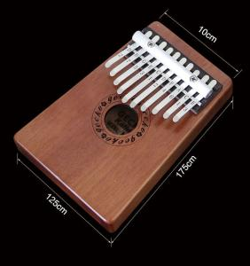 Tangwood Classic 17 Keys Thumb Piano Kalimba Solid Wood with Carry Bag Tuning HammerTangwood Classic 17 Keys Thumb Piano Kalimba Solid Wood with Carry Bag Tuning Hammer