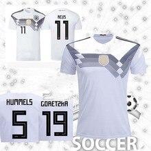 6a985a8a10a Germany soccer jerseys 2018 WORLD CUP MULLER OZIL KROOS HUMMELS REUS SANE jersey  football shirt camisetas