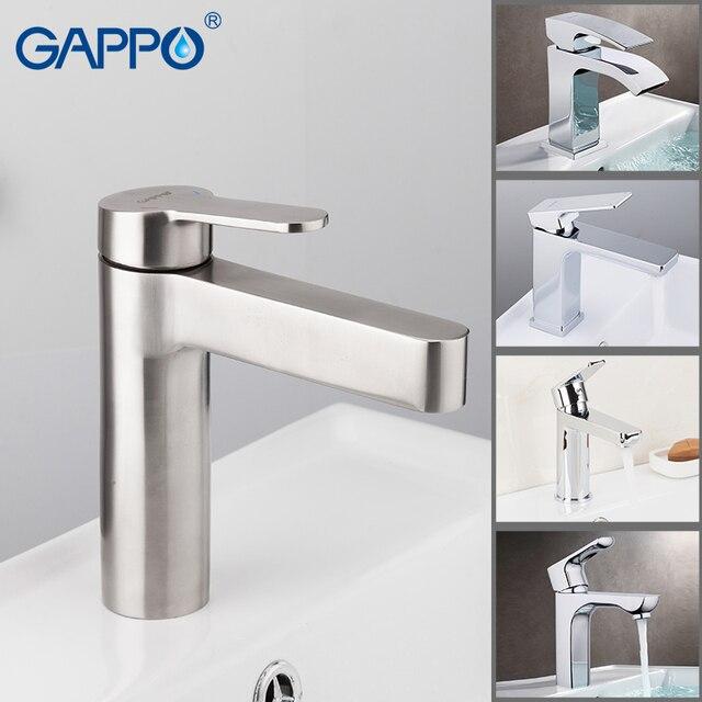 GAPPO rubinetto del bacino rubinetti del bagno piattaforma ha montato il miscelatore cascata rubinetto del dispersore del bacino miscelatore vasca da bagno rubinetto rubinetti