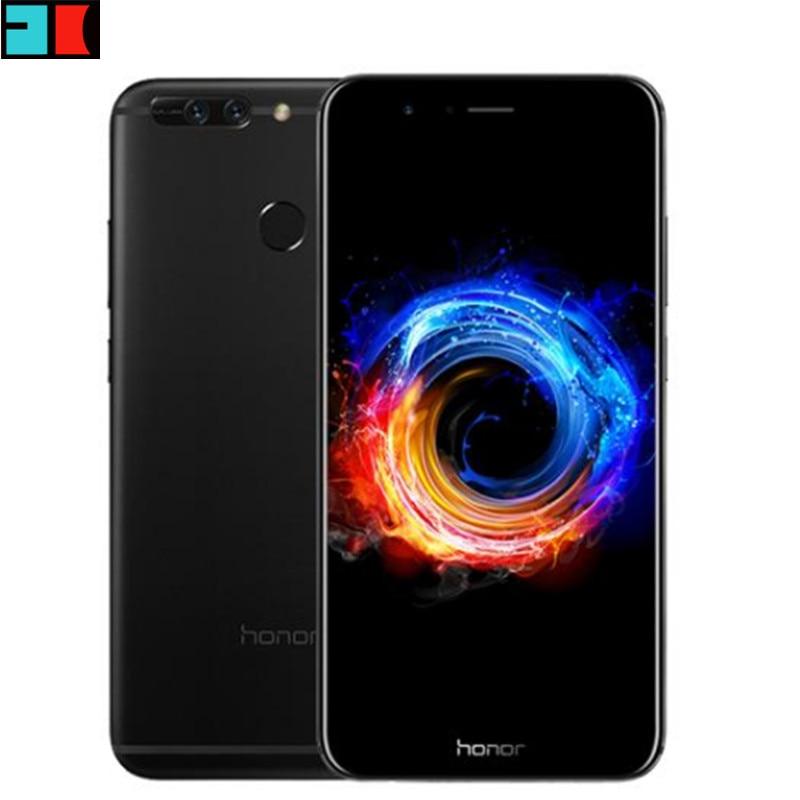 "Original Huawei Honor V9 4G LTE Mobile Phone 5.7"" 2560x1440 4GB RAM 64GB ROM Kirin960 Octa-Core Dual 12.0MP Camera Smart Phone"
