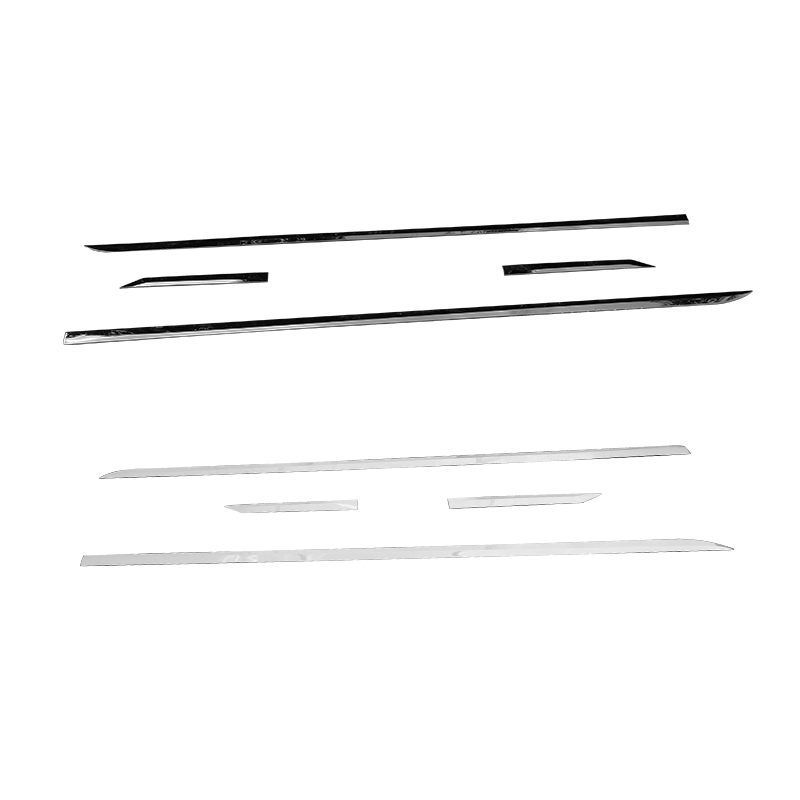 QHCP 4 шт./компл. нержавеющая сталь Боковая дверь корпус анти руб Защитная полоска накладка наклейка для Lexus ES200 260 300 H 2018 Автомобиль Стайлинг