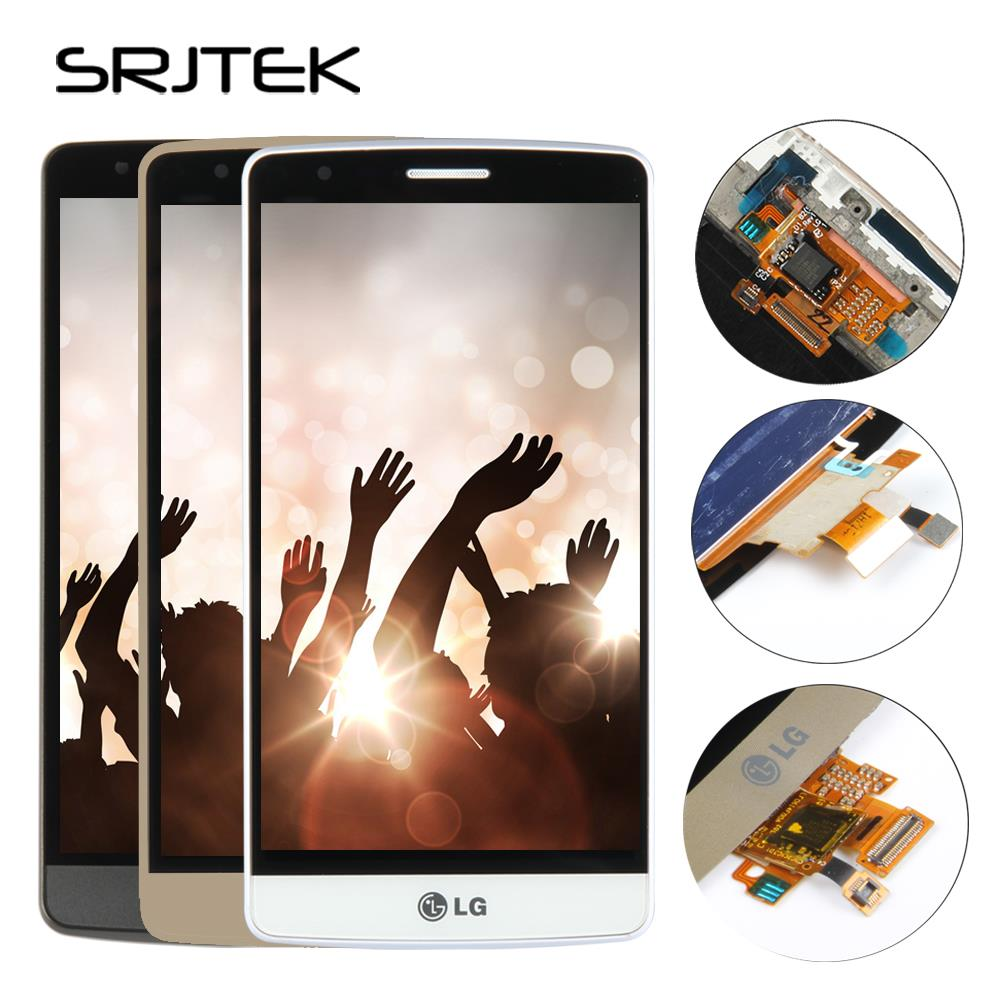 Srjtek 5.5 LCD for LG G3 LCD Touch Screen Digitizer Assembly with Frame for LG G3 Display D850 D851 D855 D858 Replacement Parts