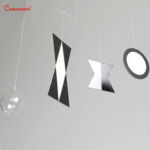DIY Munari Mobile Montessori for Infants Toddlers Hanging Mobiles Black WhiteToy Baby Visual Practice Newborn 1-3 Months LT102-3 все цены