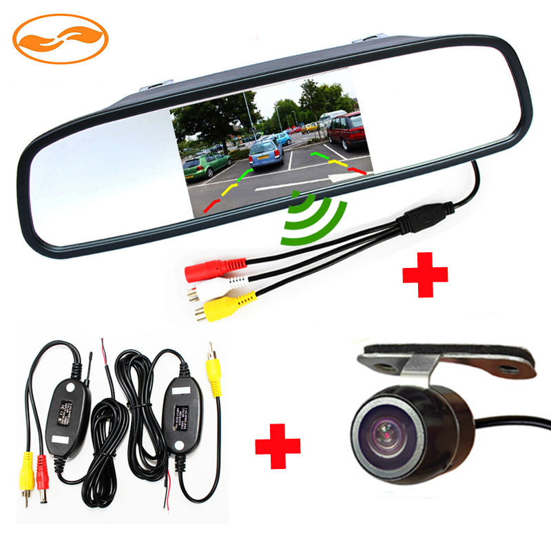 rearview mirror backup camera system reviews online shopping rearview mirror backup camera. Black Bedroom Furniture Sets. Home Design Ideas