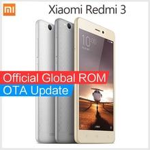 """Original Xiaomi Redmi 3 smartphone Snapdragon 616 Octa Core Redmi3 4G FDD LTE 5.0 """" 1080P mobile phones"""