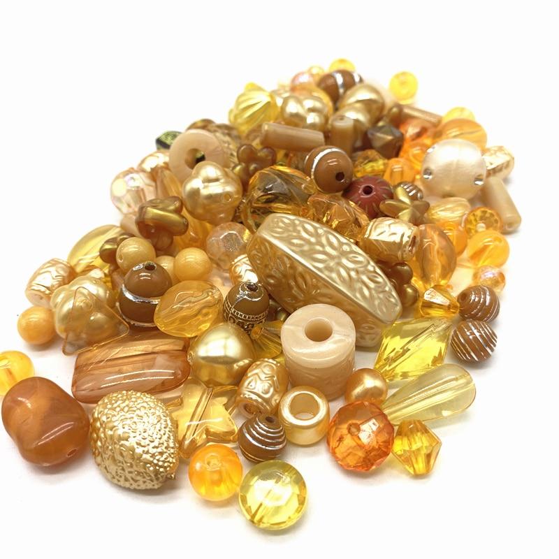 Новинка 20 г акриловые бусины смешанные бусины стиль для DIY ювелирные изделия браслеты ручной работы изготовление аксессуаров - Цвет: 19