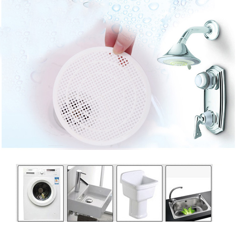 Sink Strainer Bathroom Sink Drain Filter Hair Catcher Stopper Useful Home Kitchen Sink Strainer Bathroom Kitchen Accessories
