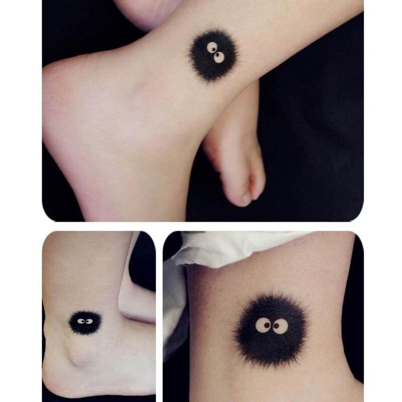 Fairydust Susuwatari My Neighbor Totoro Spirited Away Tattoo Sticker Kuru Store