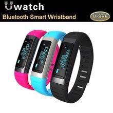 DBPOWER U Beobachten U9 Smart Bluetooth Uhr SmartWatch Handgelenk Schrittzähler Für für HTC für XIAOMI Android Telefon