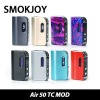 Original SMOKJOY Air 50 TC MOD Battery 1200mah Max 50W output VW/TC Mode Electronic Cigarette Mod Clearance Price