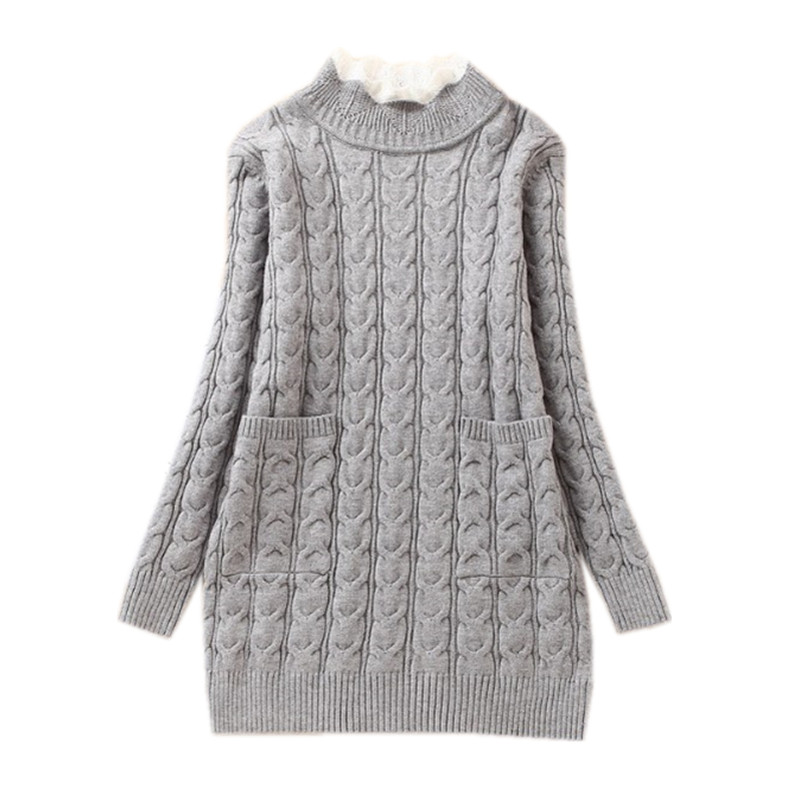 8 to 16 years kids & teenager big girls cable knit solid gray pink fall winter casual pullover sweaters children fashion clothes pink solid color off shoulder crop bodycon sweaters vests