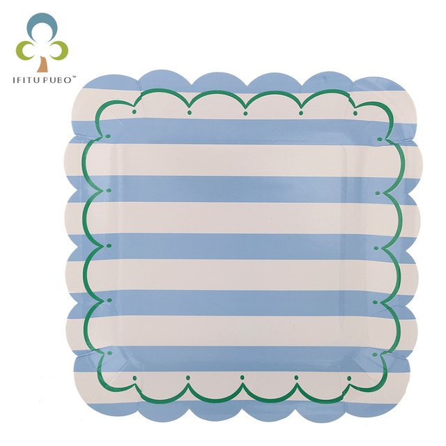 8pcs/set Paper Plates Baby Birthday Party Supplies Sweet Stripe Party Plates 7inch 9inch Baby  sc 1 st  AliExpress.com & 8pcs/set Paper Plates Baby Birthday Party Supplies Sweet Stripe ...