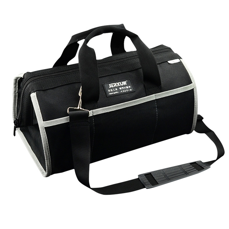 JERXUN Oxford Cloth Tool Bag Portable Multi Function Electrician Work Bag High Capacity Tools Bag Professional Tool Organizer