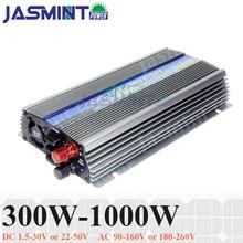 300W 500W 1000W DC10.5-30V DC22-50V solar grid tie micro inverter for 18V 24V 30V 36V system invertor