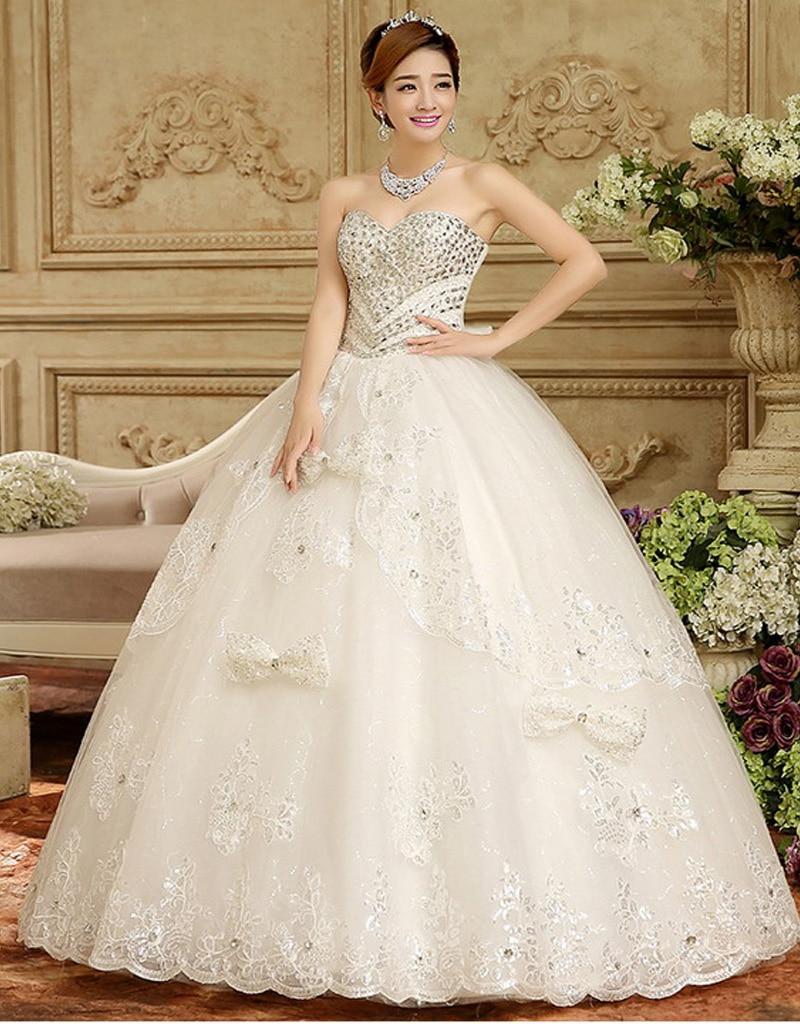 Wedding Dress Sexy Custom Made vestido de noiva Lace Up Back ...