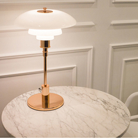 Высокая Реплики датские настольная лампа Спальня Гостиная рядом лампы Studay настольная лампа для чтения E14 офис света современный