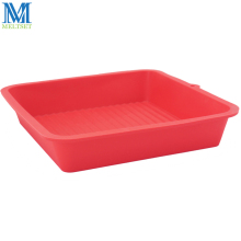 Environmental High Temperature Resistant Ordinary Square Type Cake Mold Square Silicone Toast Mold Easy Cleaning Silicone Mold