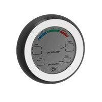 Цифровой термометр гигрометр Температура измеритель влажности макс минимальное значение тренд дисплей