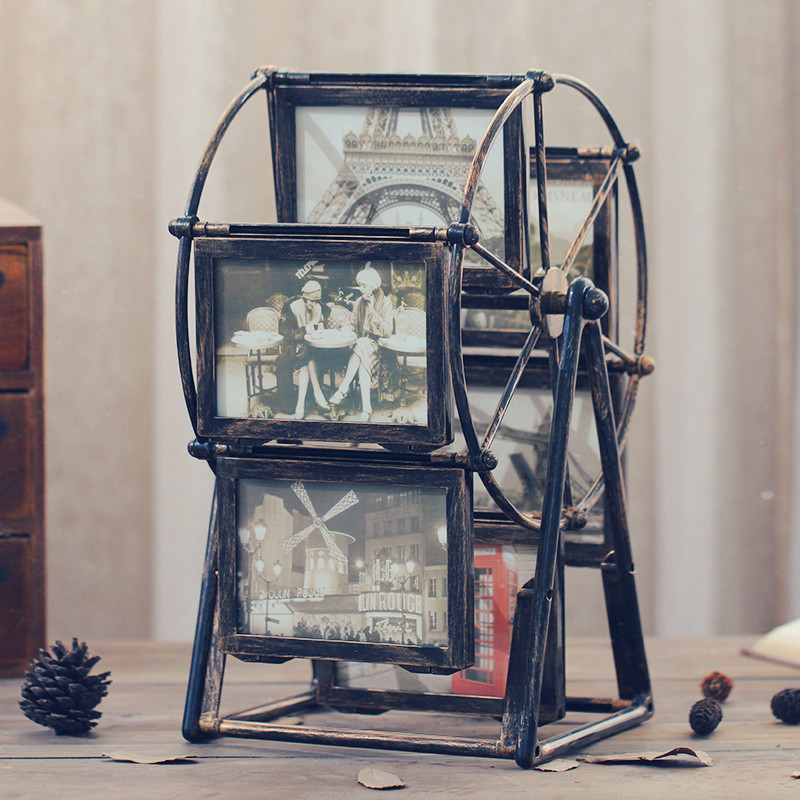 Riesenrad bilderrahmen tabelle kreative windmühle photo frame set ...