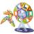 78 UNIDS Magnética Bloques de Construcción de Juguetes DIY Modelos de Diseño Magnético de Aprendizaje Educativos Ladrillos De Plástico Los Niños Juguetes Para Niños de Regalo