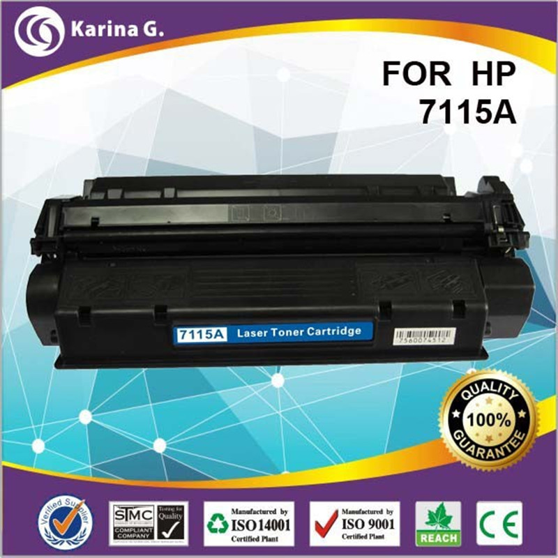 For 15A 7115 comaptible toner cartridge for HP C7115A a+Quality for HP LaserJet 1000 1005 3300MFP 3320n MFP3320 MFP3330
