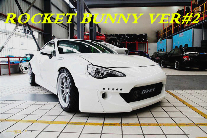 Gred Dy Rocket Bunny Ver 2 Style Frp Body Kits For Gt86 Fr S Brz