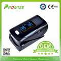 4 Pieces Promise OLED display oximeter portable oximetro de dedo SOP2 PR PI fingertip pulse oximeter black