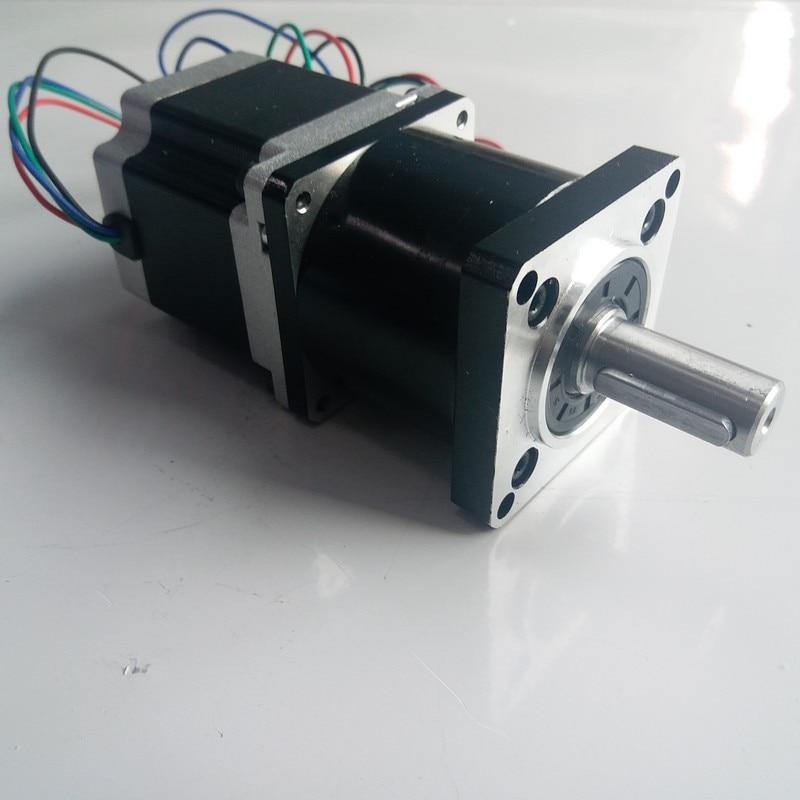 Ratio96: 1 100:1 NEMA34 Motore Passo-passo 86*80mm 4NM 570Oz-in 4A 4 Fili con Planetary Gearbox Reducer Kit di Alta di coppia per CNCRatio96: 1 100:1 NEMA34 Motore Passo-passo 86*80mm 4NM 570Oz-in 4A 4 Fili con Planetary Gearbox Reducer Kit di Alta di coppia per CNC