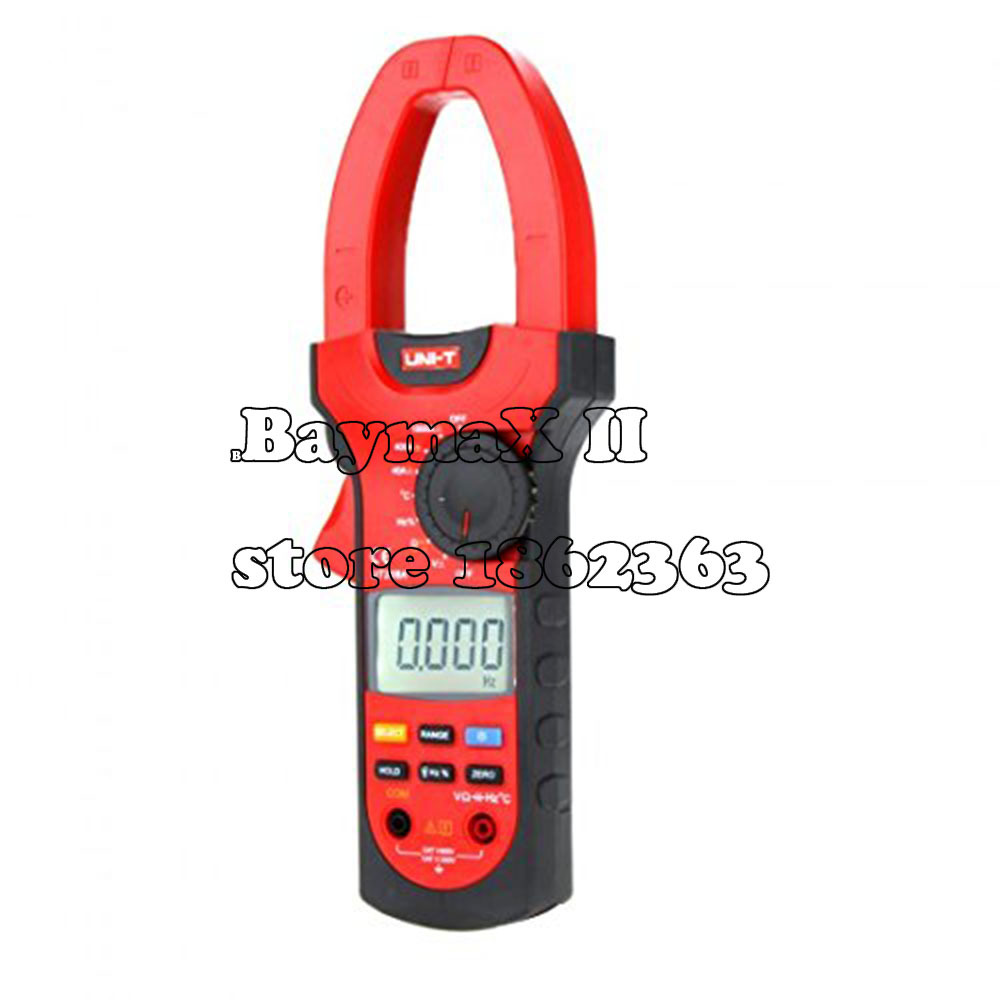 UNI-T UT208A Digital Clamp Meter Multifunction Auto Range Multimeter AC/DC Voltage Current Temperature Tester DMM 100% original fluke 15b f15b auto range digital multimeter meter dmm