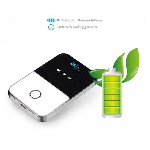 TIANJIE 4G Router Wi-fi minirouter 3G 4G Lte bezprzewodowy przenośny kieszonkowy bezprzewodowy dostęp do internetu mobilny punkt aktywny samochód router Wifi z gniazdo karty Sim