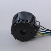 HPM10KW Max 6000RPM 20KW BLDC water cooling motor for electric car or electric motorcycle