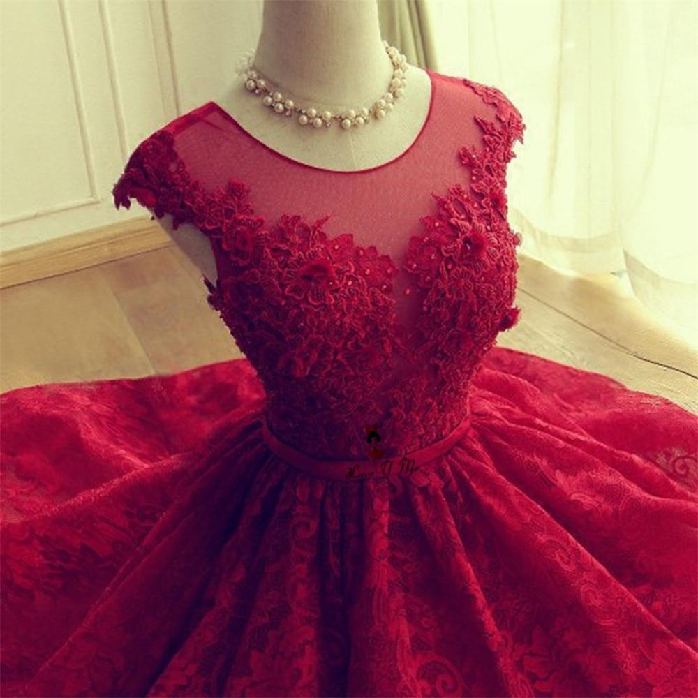 2018 Lace Short luxury cocktail dresses short beaded elegant ...