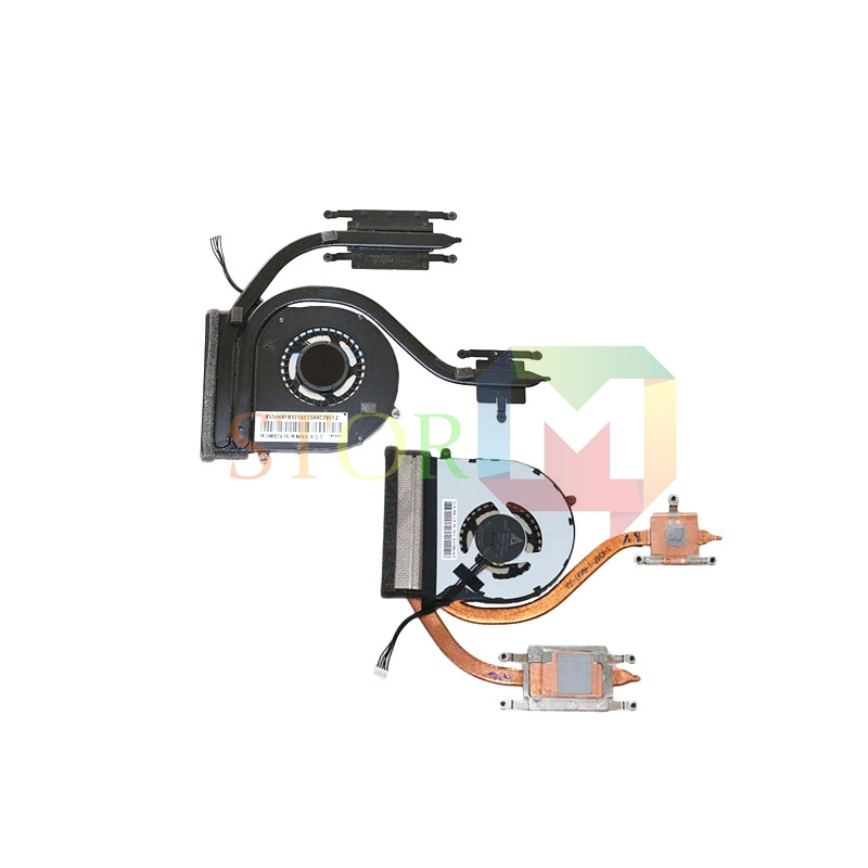 NOKOTION for lenovo thinkpad E555 laptop heatsink with cooling fan 04X5616 for acer aspire v3 772g notebook pc heatsink fan fit for gtx850 and gtx760m gpu 100% tested