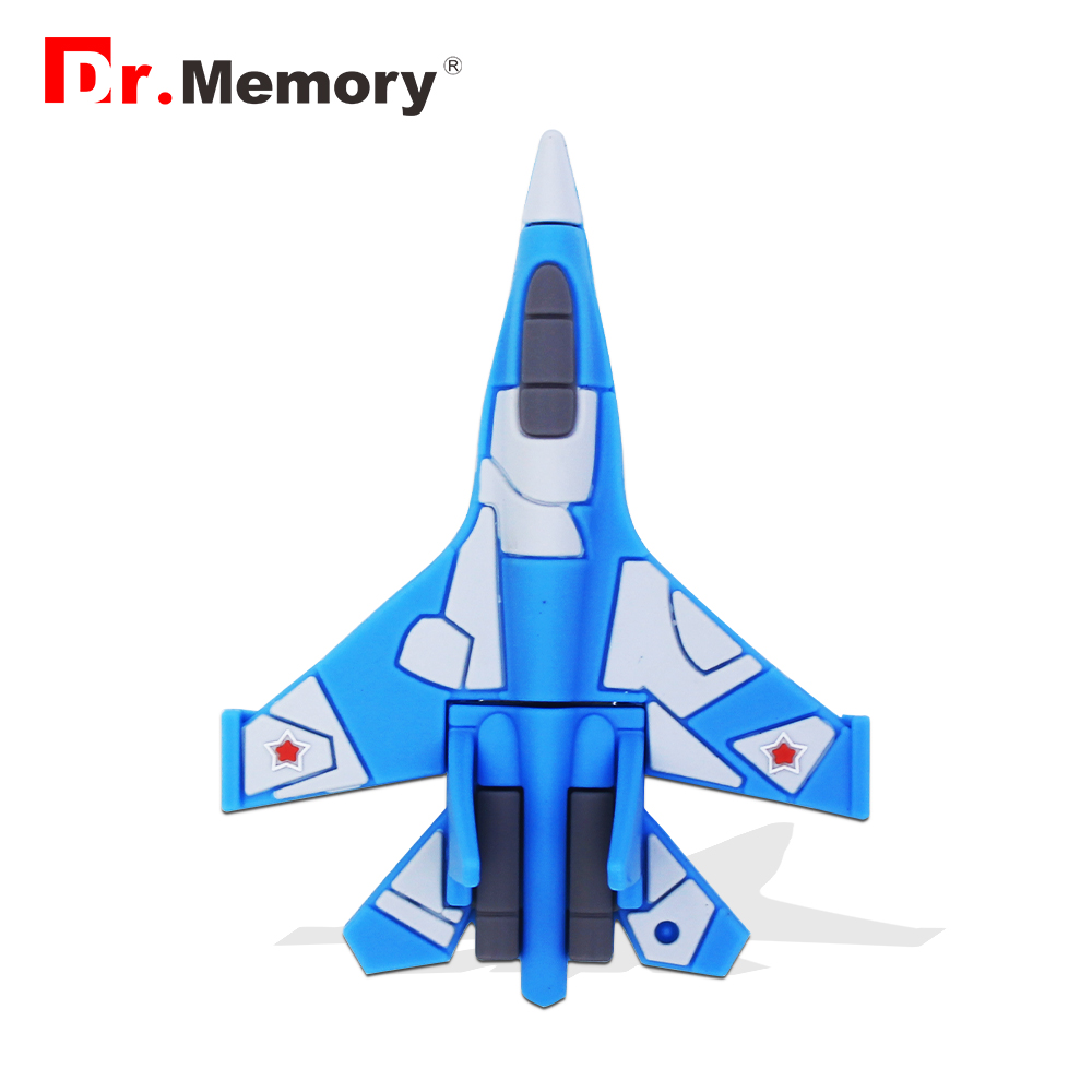 Cool Airplane 64GB USB Flash Drive Fighter Model Pendrive Personalized 128MB 16GB 32GB Memory Stick Full Capacity Pen Drive Gift