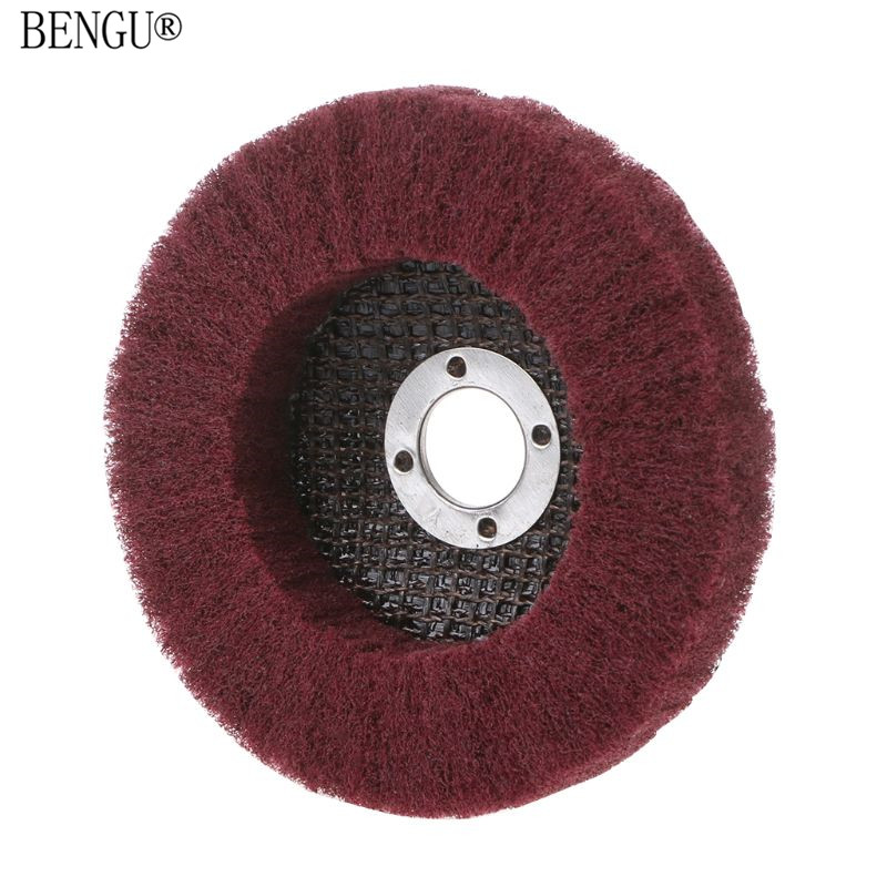 Nylon Fiber Grinding Wheel Polishing Buffing Disc Pad Abrasive Brush Rotary Tool
