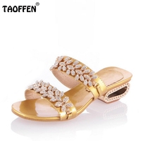 Free Shipping Quality High Heel Sandals Fashion Women Dress Sexy Shoes Platform Pumps P13287 Hot Sale
