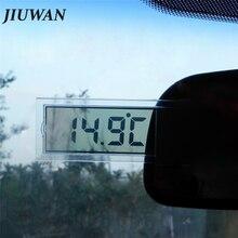 1 шт. автомобильный ЖК-цифровой термометр авто окно открытый энергосберегающий манометр смарт-номер дисплей температуры инструменты аксессуары