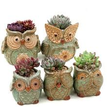 Small Lotus Ceramic Garden Supplies Pottery Mini Flower Pot Planter Pots Decorative Terracotta Succulents