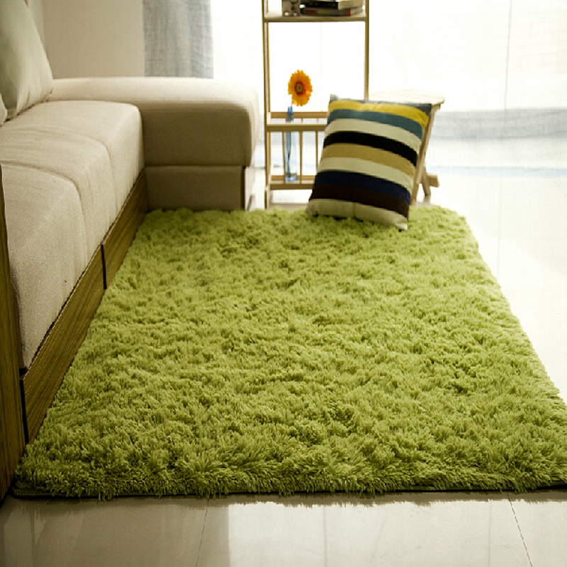 9 Size Plush Shaggy Living Room Carpets Bedroom Kids Play Soft Fluffy Area  Rug Non