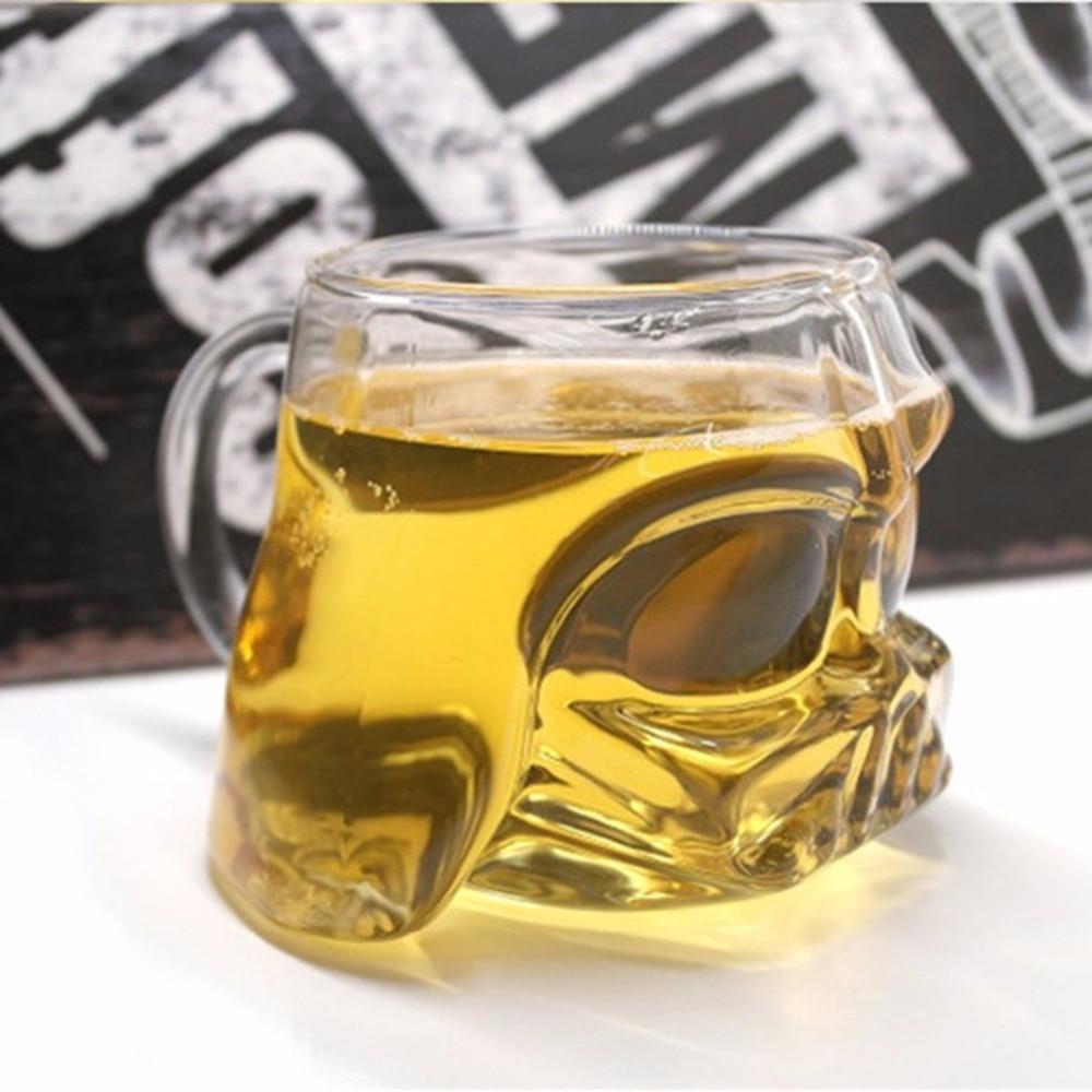 300-400 ml Transparent Star Wars 3D Darth Vader Bière Tasse En Verre Bureau À Domicile Bar Verres Vin Eau Whiskey vodka En Verre Tasse