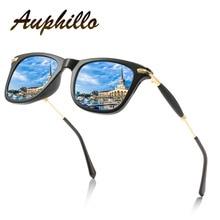 Polarized Sunglasses Men Women Classic Retro Brand Designer Metal Square Driving Fishing Glasses Eyewear Accessories 185