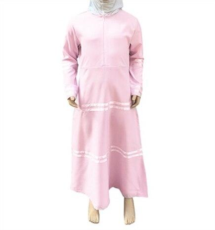 10-16Years 2017 latest design muslim kids clothes fashion teenager young girl dress islamic turki muslim dress ramadan 4