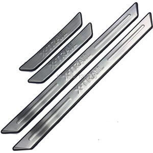 Image 5 - For Nissan X Trail X Trail XTrail T32 T31 2008 2018 2019 2020 Stainless Door Sills Kick Plates Protector Car Styling Accessories
