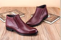 Зимние мужские из натуральной кожи модные Туфли оксфорды 2018 осень Италия обувь в стиле Дерби мотоциклетные ботильоны в западном стиле; Sapatos